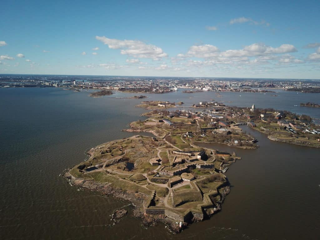 sea fortress soumenlinna view in 3 day helsinki itinerary