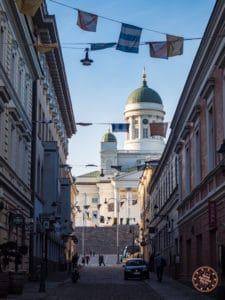 3 day helsinki itinerary cathedral alleyway