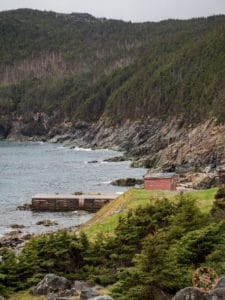 pouch cove old dock
