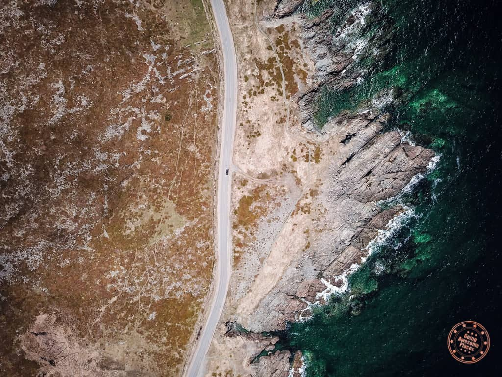 4 day newfoundland itinerary cape bonavista road aerial