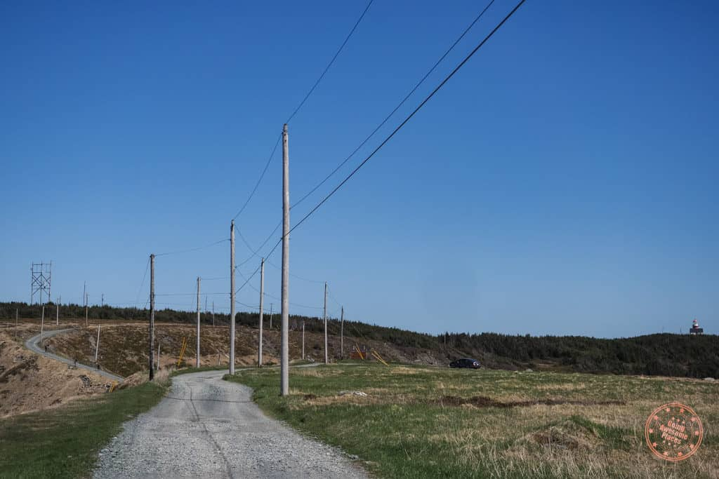 offroad towards ferryland lighthouse