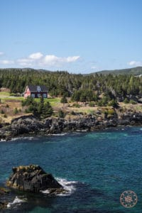 red house in ferryland