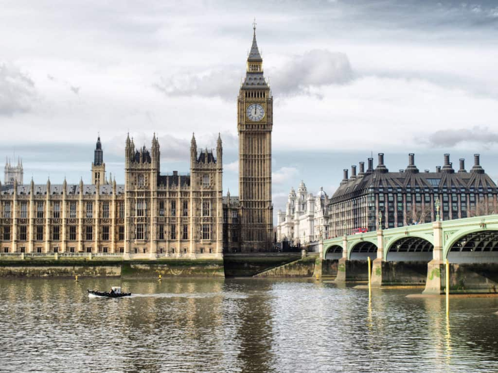 Houses of Parliament, Westminster Palace, London gothic architecture in 8 great cities to visit before you die