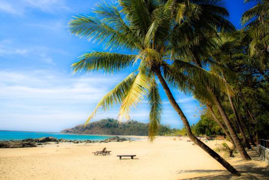 ngapali beach in myanmar