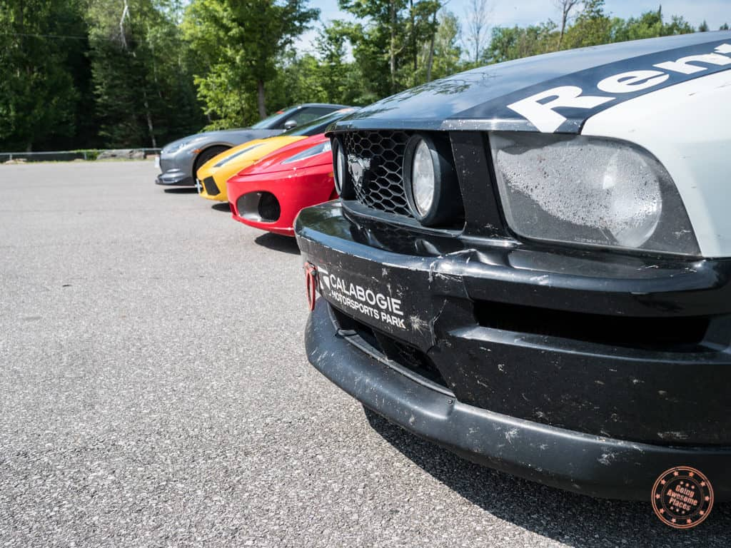 rent a race car experience at calabogie motorsports park