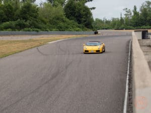 driving a lamborghini gallardo at calabogie motorsports park