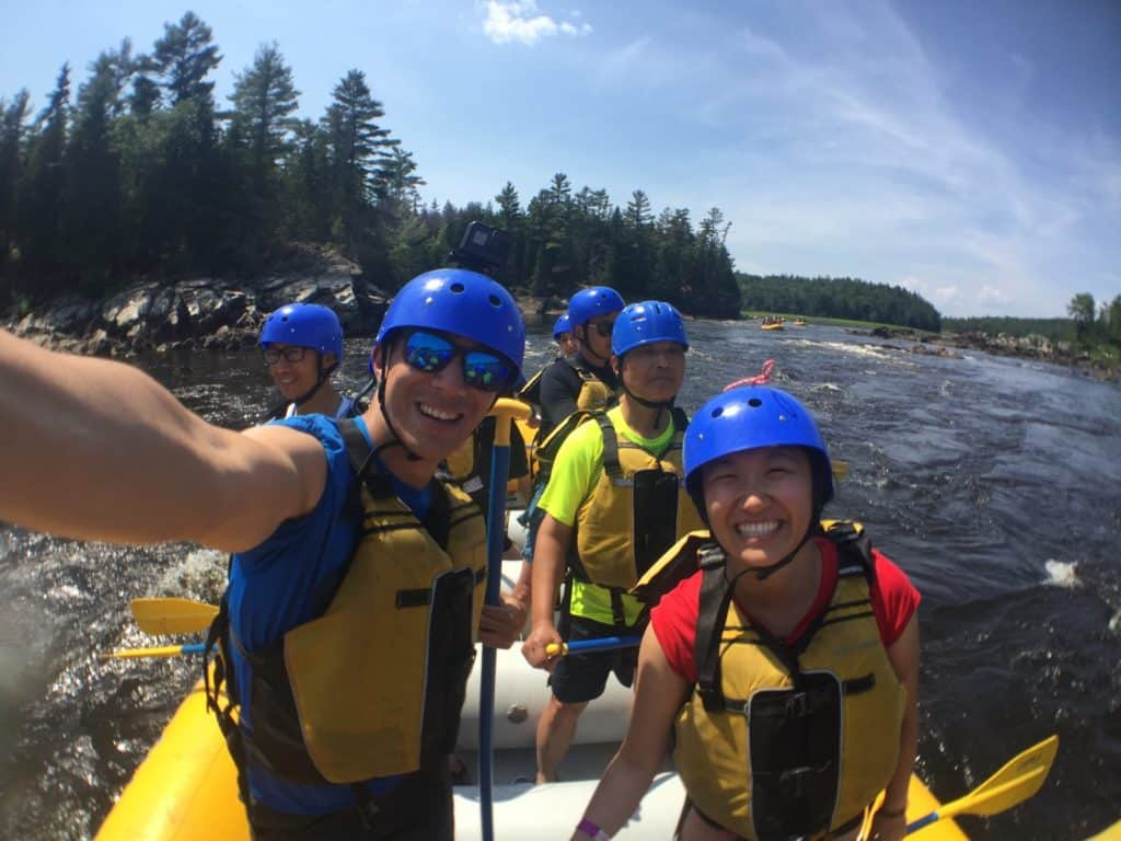 insane adventure in the ottawa valley with owl rafting as part of ontario's highlands freedom finder route