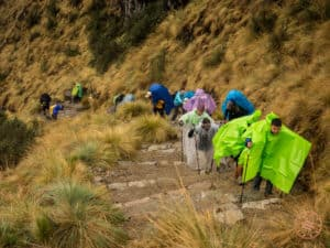 most challenging part of inca trail was deadwomans pass