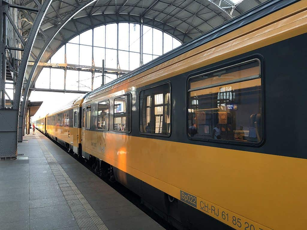 taking a train in europe as one of the cheapest ways to travel within europe