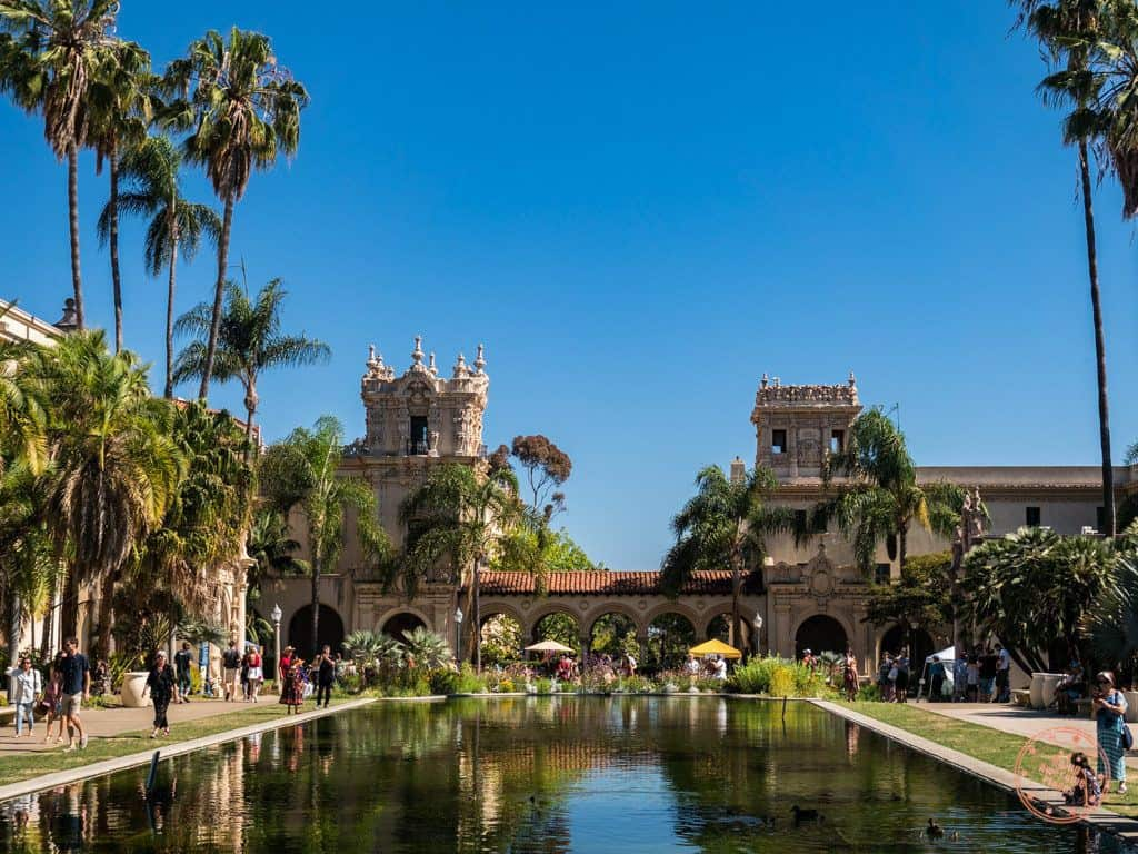 balboa park el prado and pool