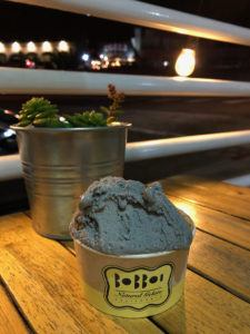 black sesame bobboi natural gelato in la jolla