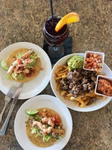 edgewater grill dishes at seaport village