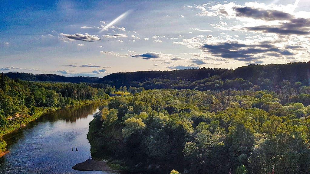 gauja national park vista