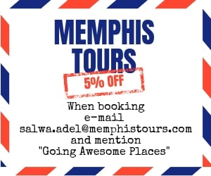 memphis tours 5% promotion discount code