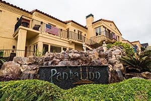pantai inn la jolla front entrance sign