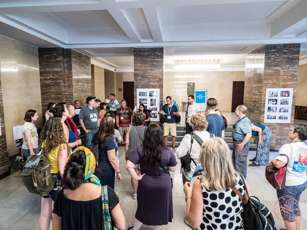 pre-bex gathering in ostrava new city hall
