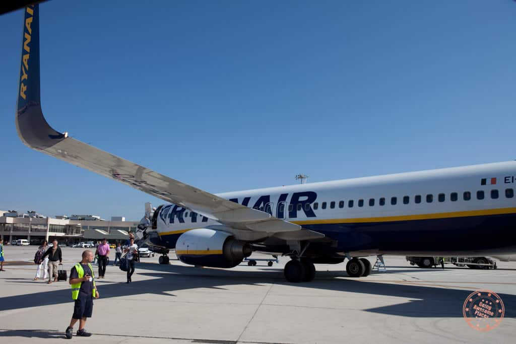 ryanair low cost carrier is a cheap way to travel europe