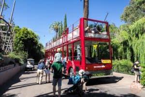 san diego zoo shuttle bus