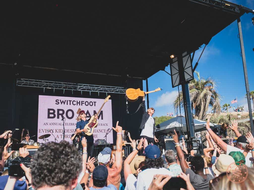 switchfoot bro-am 2018 benefit concert in san diego