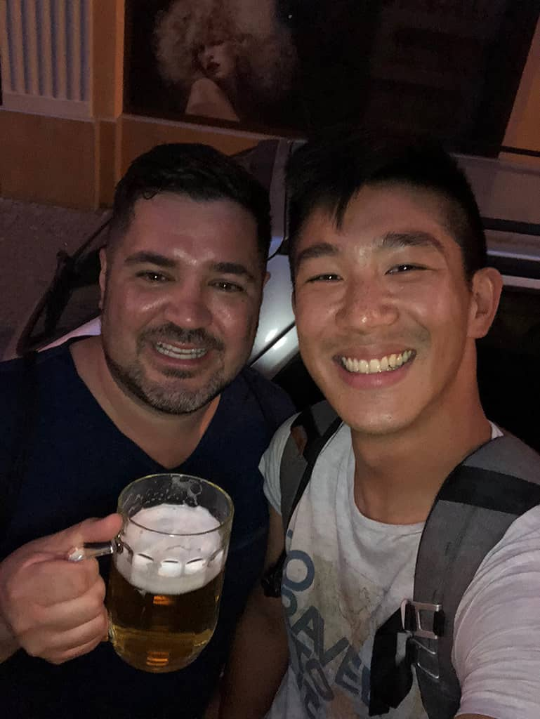 will with nathan of foodie flashpacker