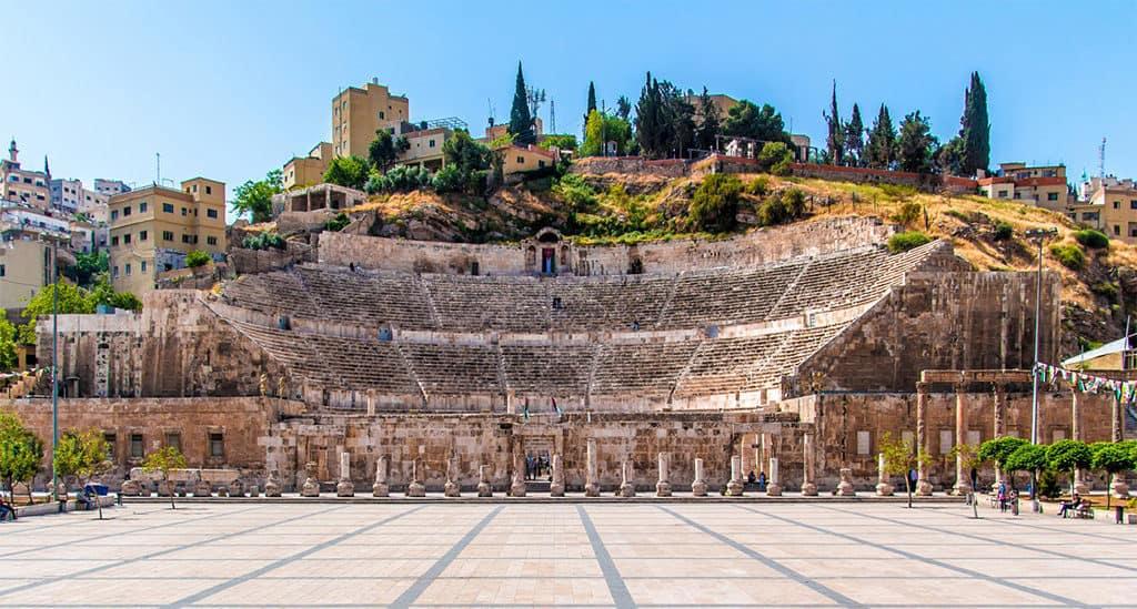 roman theater in amman jordan