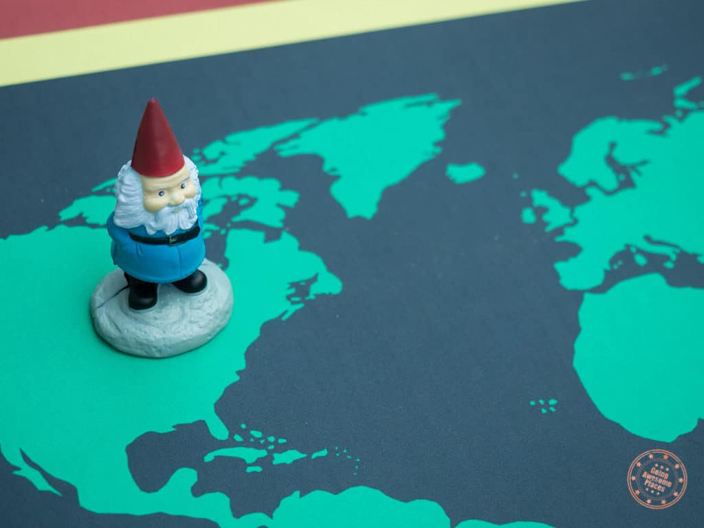 surprise vacation with amazing race mat and gnome competitours