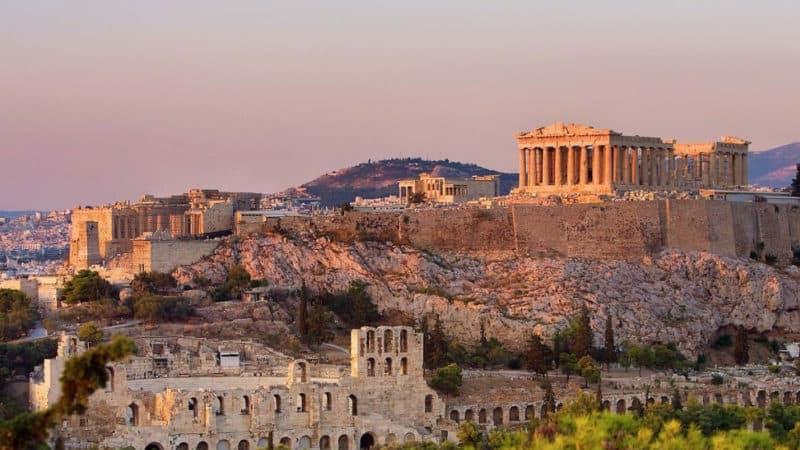start in athens with eastern mediterranean cruise