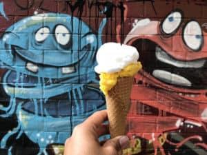 ice cream in schanzenvirtiel