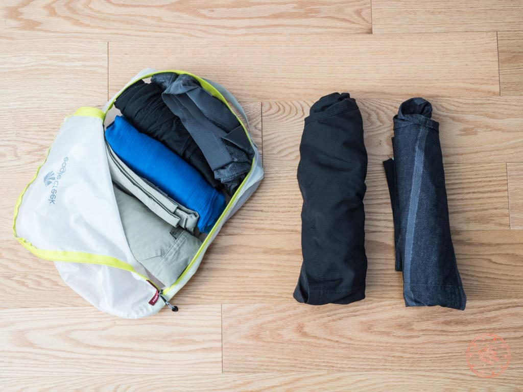 pants packed for new zealand