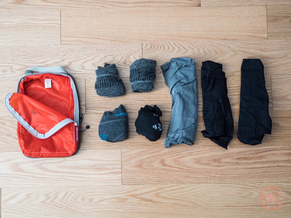 socks and underwear new zealand packing list