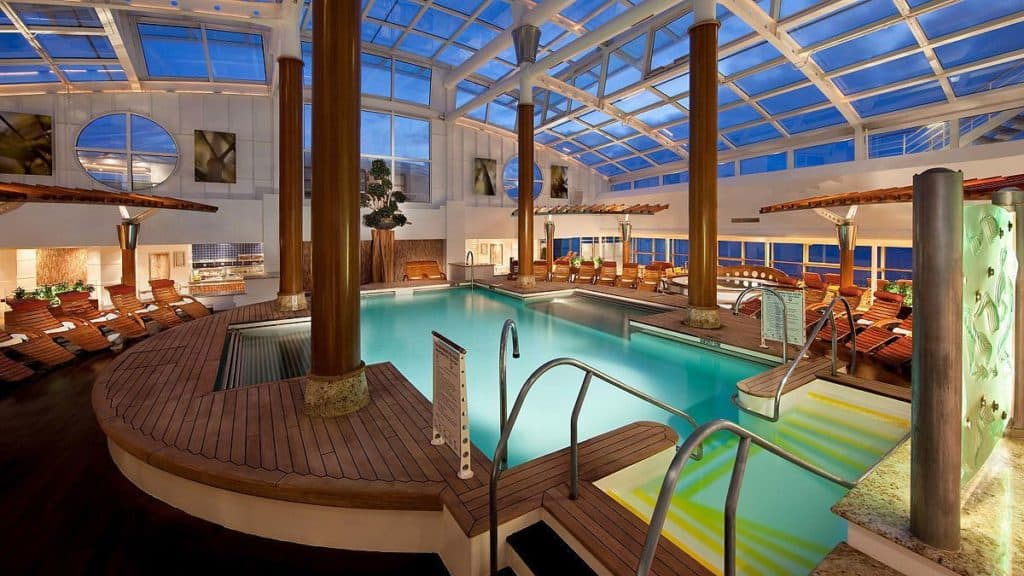 celebrity infinity cruise ship solarium