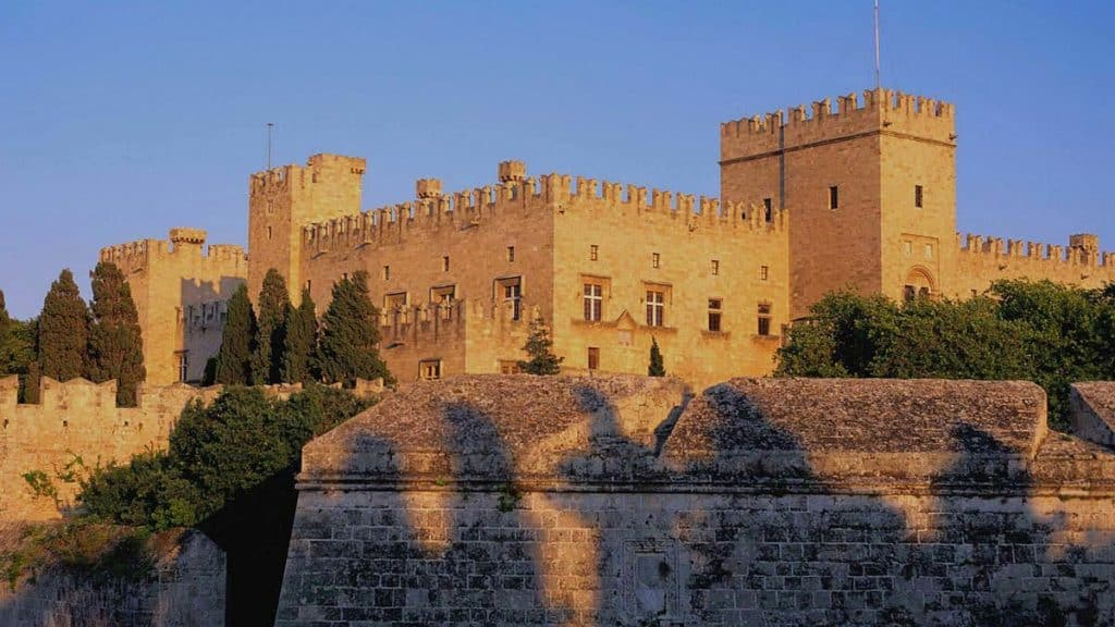 palace of the grand masters in rhodes greece