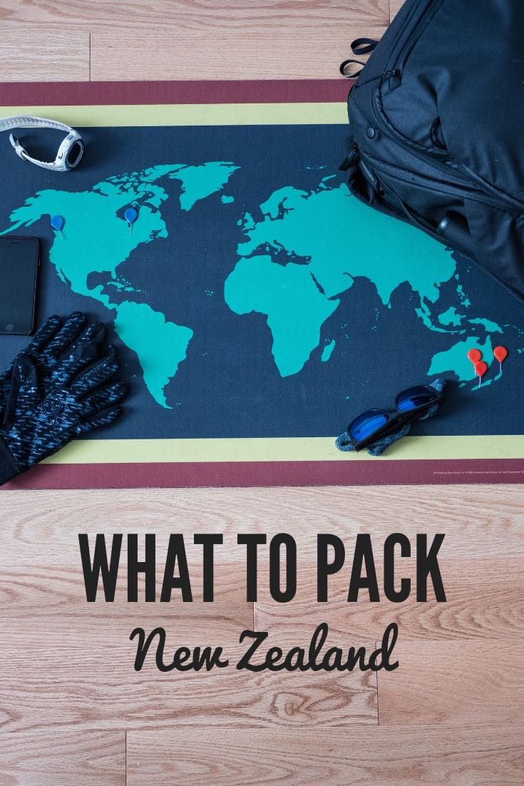 What To Pack for New Zealand - A Visual Super Guide