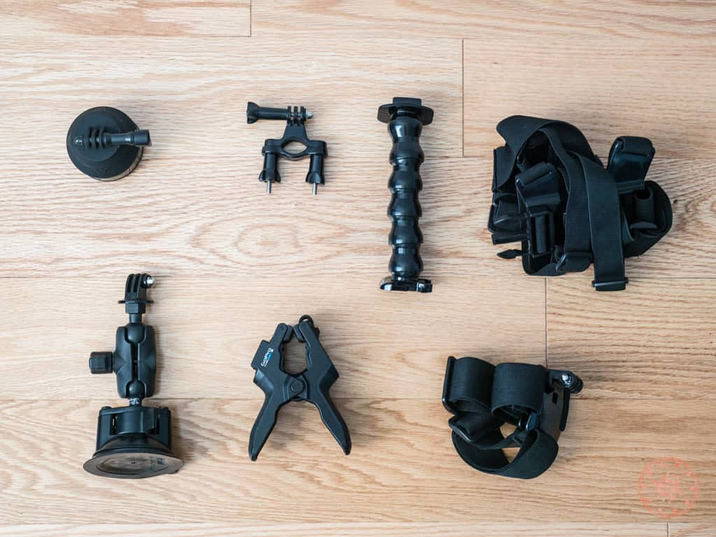 gopro accessories to pack when travelling