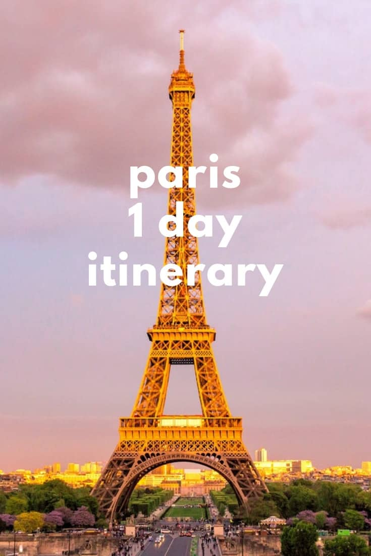 1 Day Paris Itinerary - A jam-packed layover