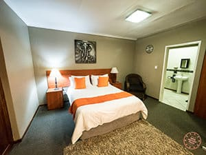 aero guest lodge room interior in johannesburg