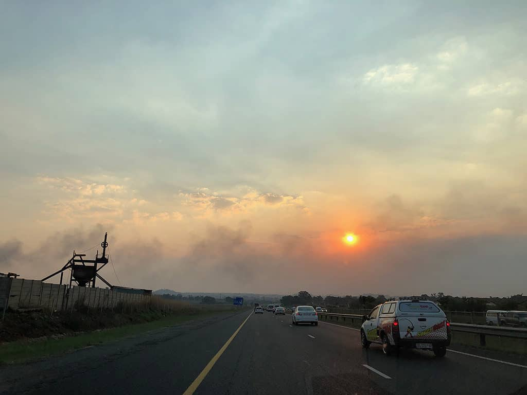 driving on the left side of the road in south africa