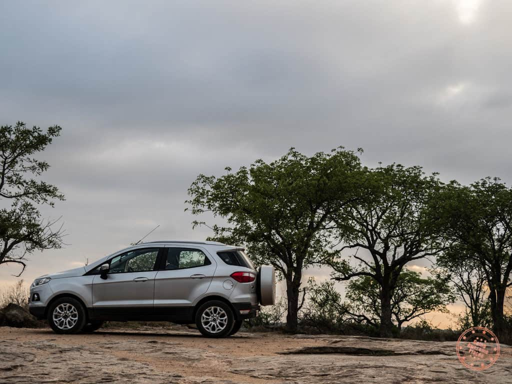 driving suv in kruger national park