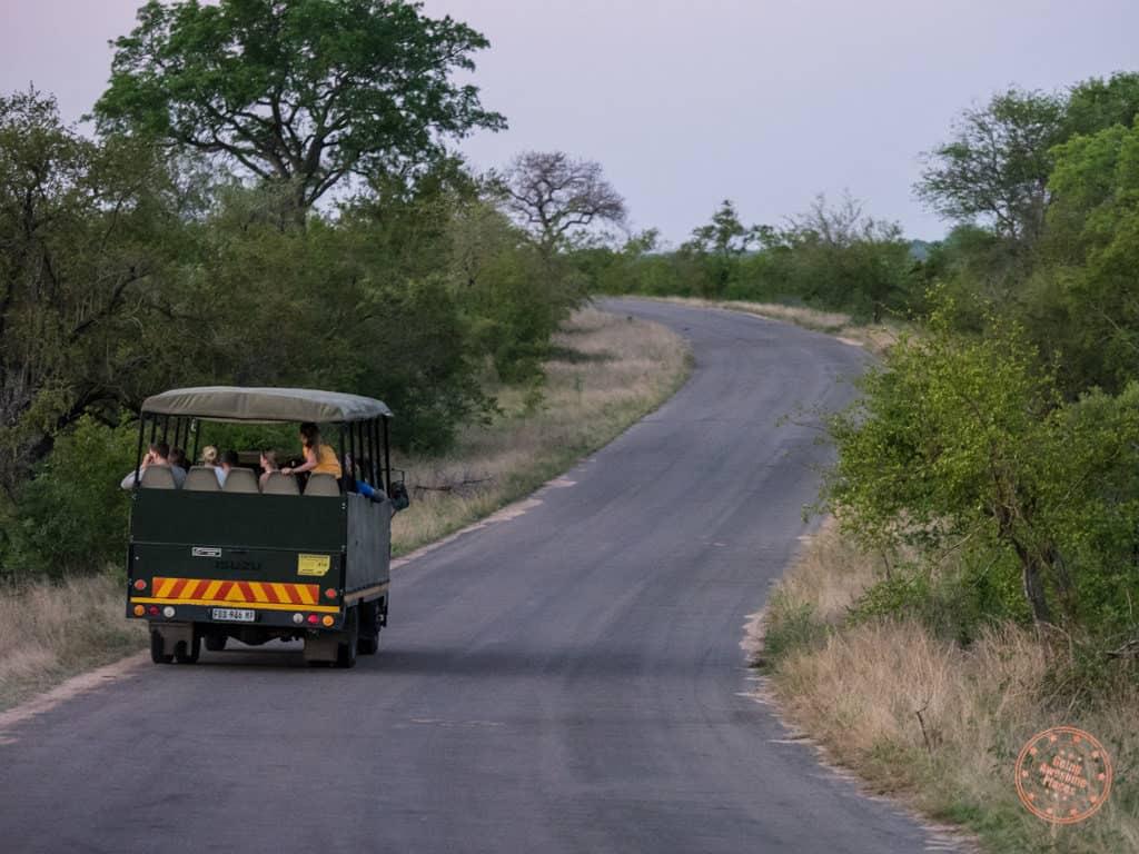 kruger game drive safari trucks