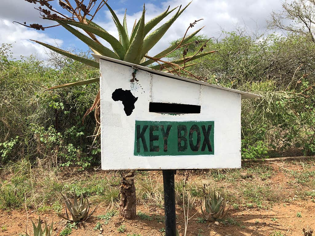 lower sabie key box for check out