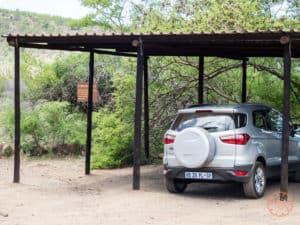 parking at orpen dam