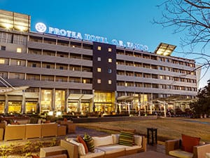 protea or tambo airport hotel by marriott in johannesburg