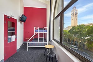 wake up sydney central bedroom