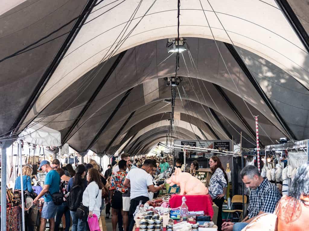the rocks market on the weekend in sydney australia