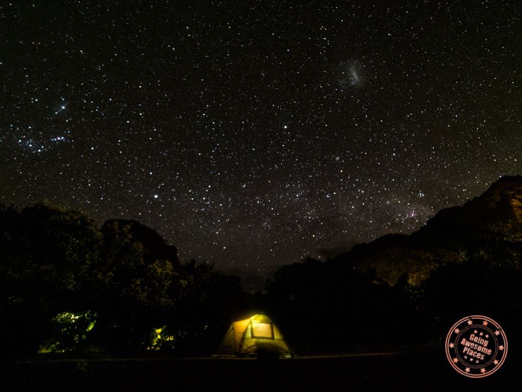 camping with flying kiwi new zealand tour under the stars