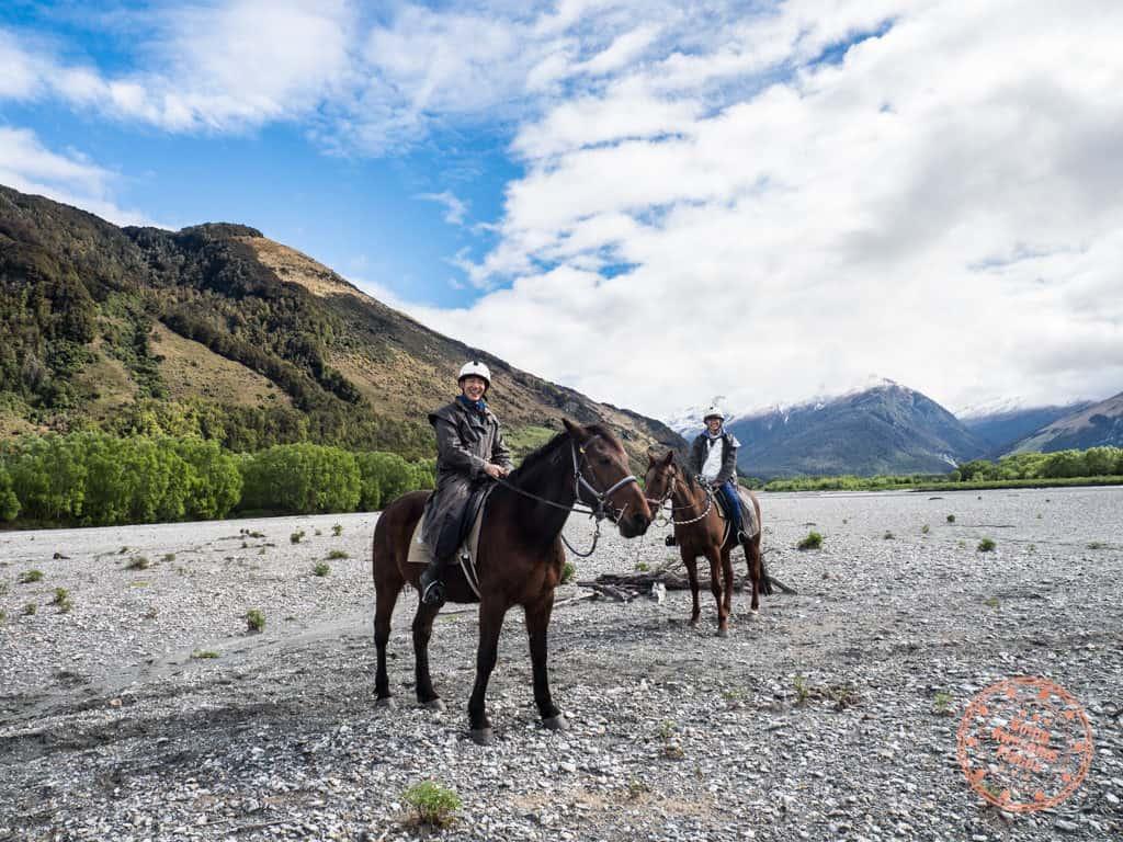 dart river adventures river wild horseback riding from queenstown