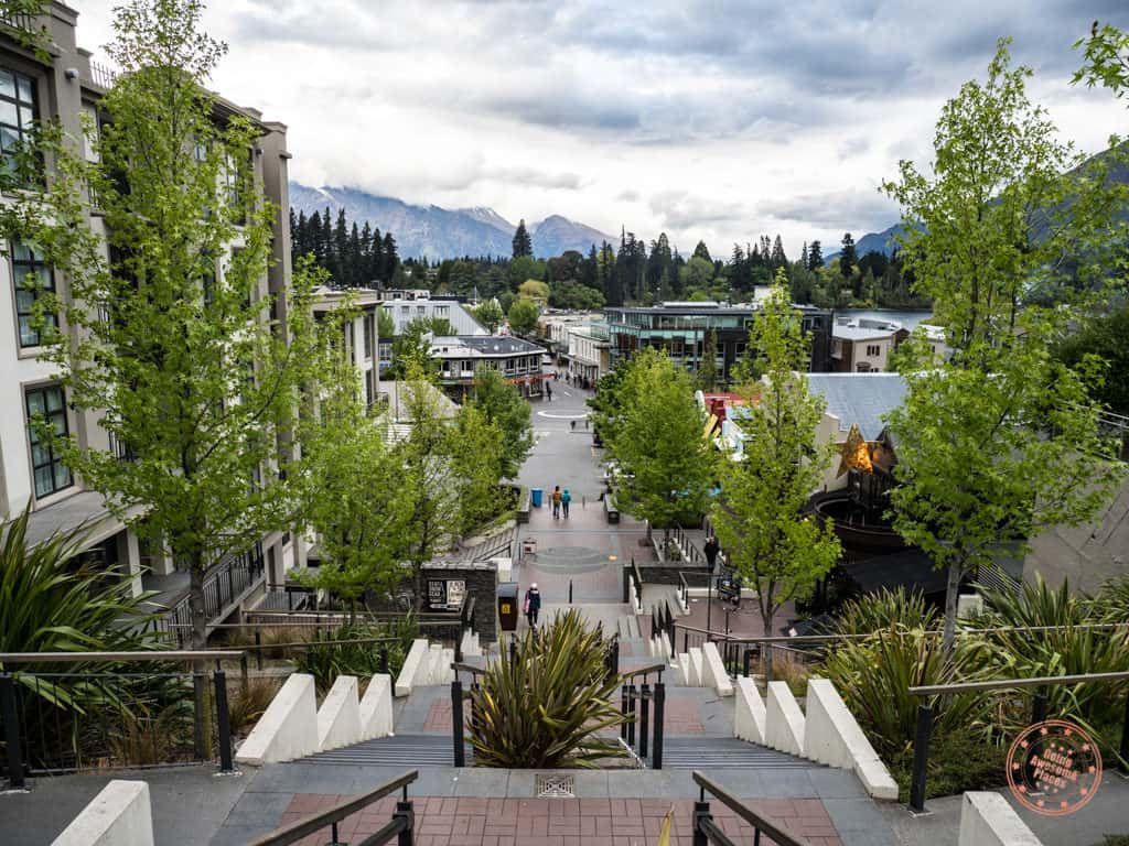 view of the top things to do in queenstown newzealand