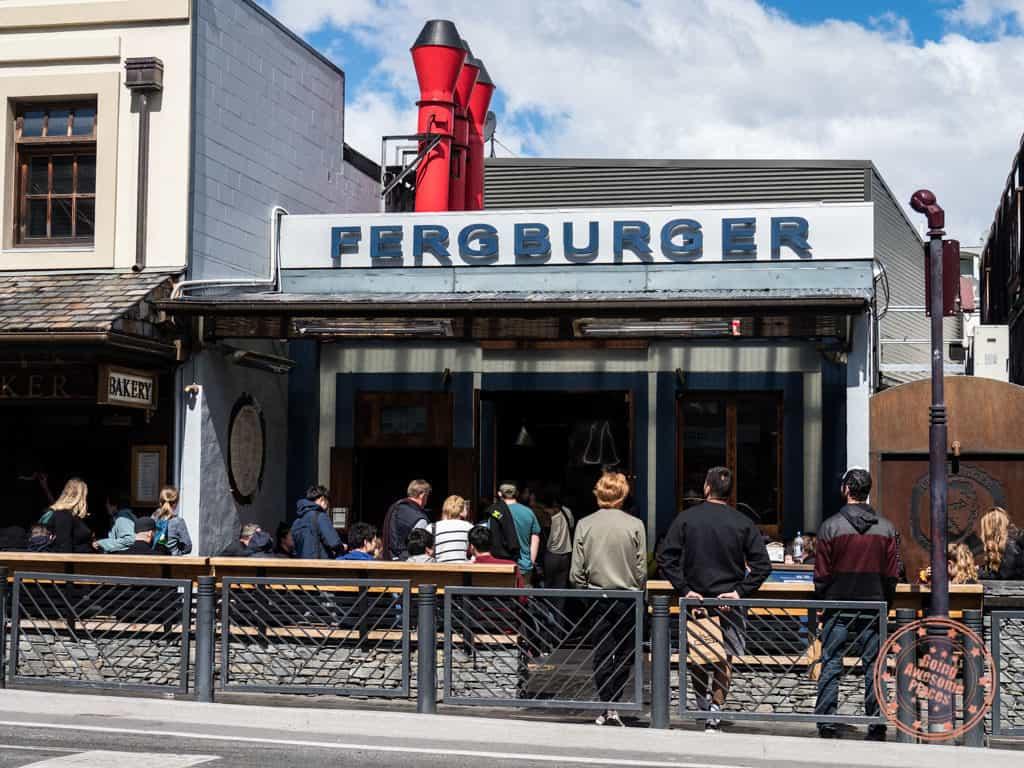 ferburger restaurant storefront in queenstown