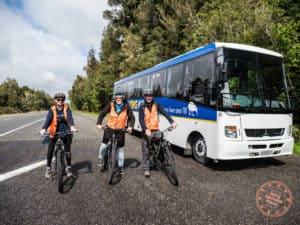 flying kiwi cycling in new zealand