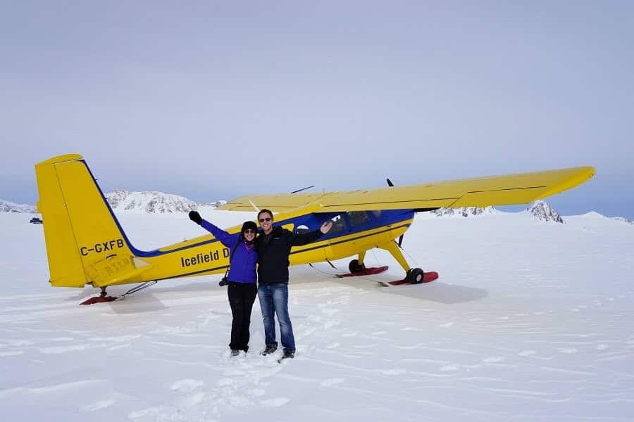 icefield plane with must do canada matt bailey